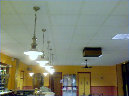 plafond suspendus aprs rnovation