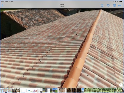 Ciment fibre sheeting great for barns