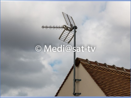 Antenne TNT individuelle