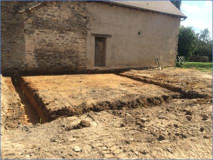 New extension footings