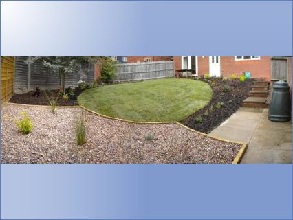 steep sloped garden requiring complete r